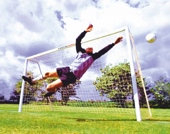 Best Garden Football Goals - uPVC Goals
